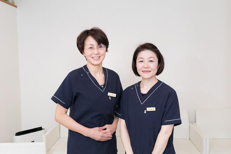 当院のドクターは女性2名
