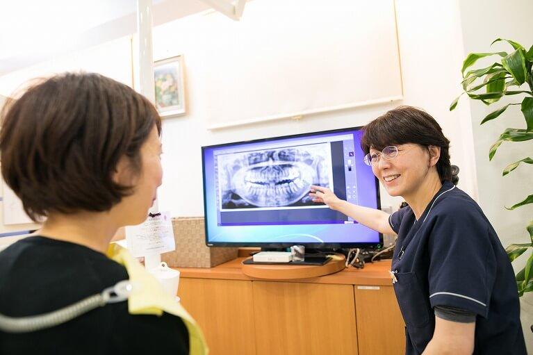 女性ドクターによる丁寧で優しい診療